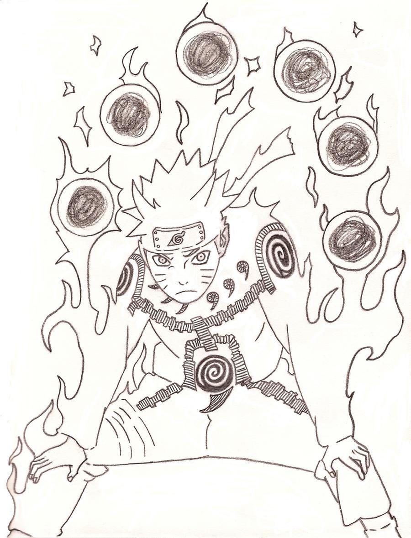 Naruto Six Rasengan by PkkHase0