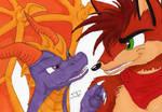 Spyro and Crash