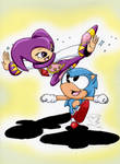 Back to 90s: Sonic and NiGHTS