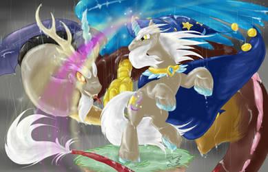 The Discordance of Star Swirl :poster: by Feniiku