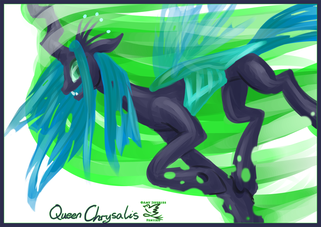 Queen of the Changelings by Feniiku