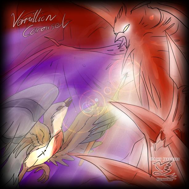The Vermillion Carousel by Feniiku