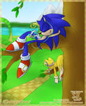 Sonic and Tails- Relaxation