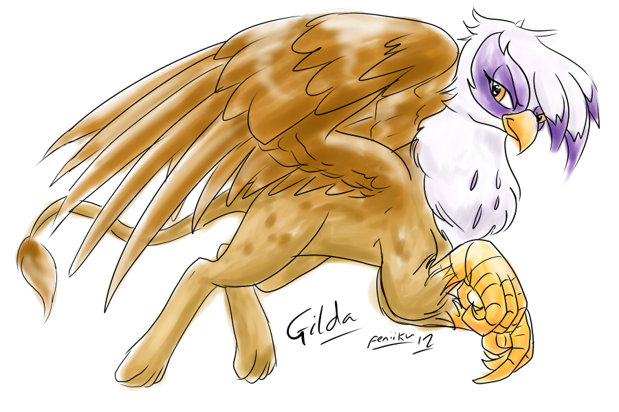 Gilda sketch by Feniiku