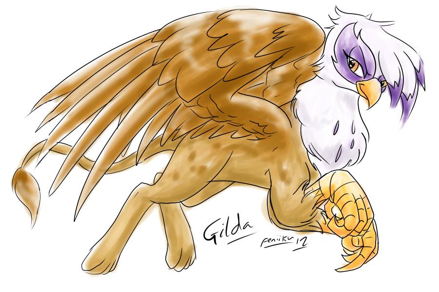 Gilda sketch by Feniiku