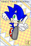 Sonic the Hedgehog by Feniiku