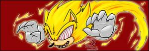 Super Sonic 'banner' ::redraw:: by Feniiku
