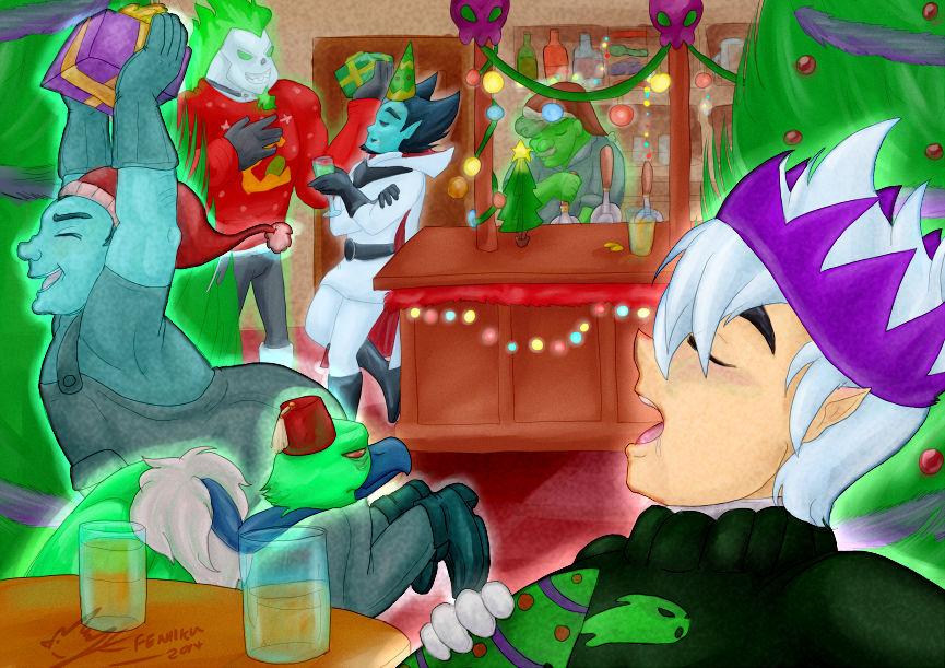 Danny Phantom Christmas Truce :2014: by Feniiku on DeviantArt