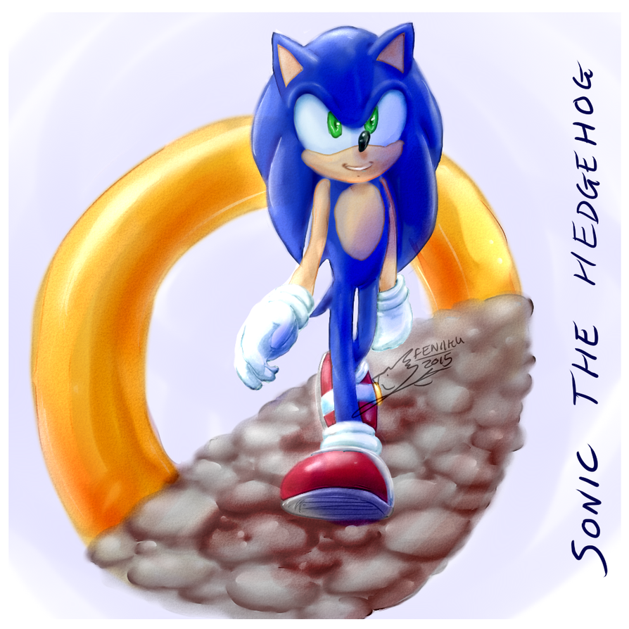 Sonic Ring by Feniiku