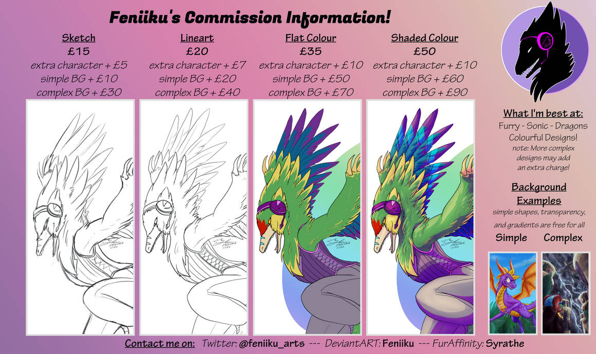 Commission Price List - open (1 slot)