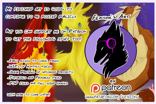 Support me on Patreon! by Feniiku