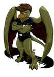 Commission- :Gargoyles: Griff
