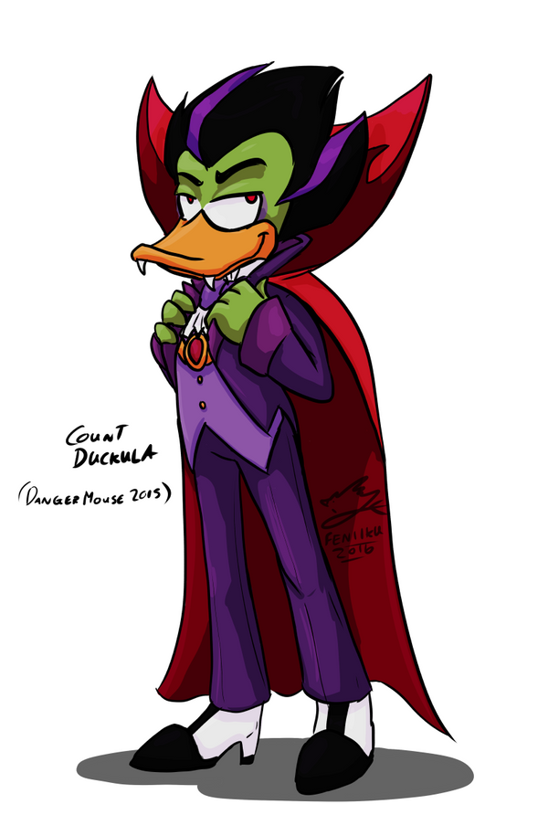 Duckula (DM2015) by Feniiku