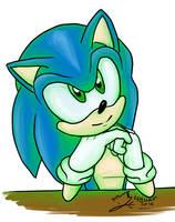 Sonic :) by Feniiku