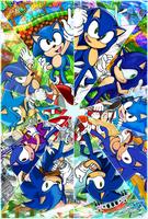 :Sonic 25th:  KALEIDOSCOPE by Feniiku