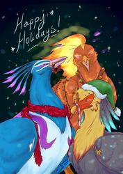 The Phoenixes Celebrate by Feniiku