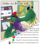 Budgie's guide to finding Feniiku!