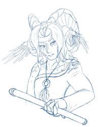 Sumetherox sketch by Feniiku