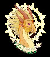 FR dragon- Solztize's Israfel by Feniiku