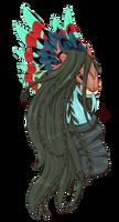FR dragon-  Rufusdrumknott's Rafflesia by Feniiku