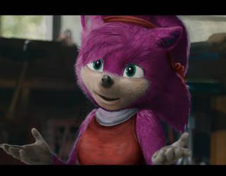 Movie Sonic - Amy edit by Feniiku