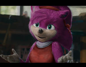 Movie Sonic - Amy edit