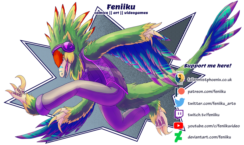 Budgie's guide to finding Feniiku! (2021 edition)