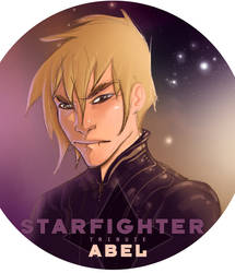 'ABEL' a starfighter tribute by laurent83