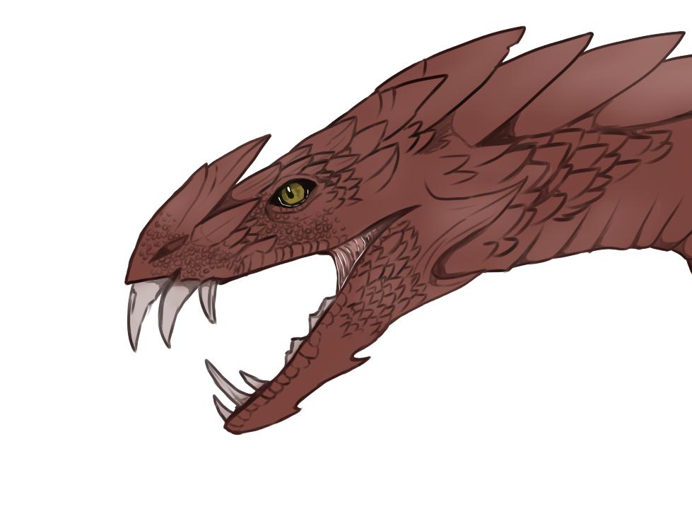 Dragon concept by Bezrail