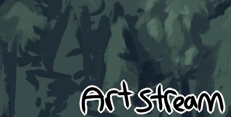 Late night Art stream - offfline by Bezrail