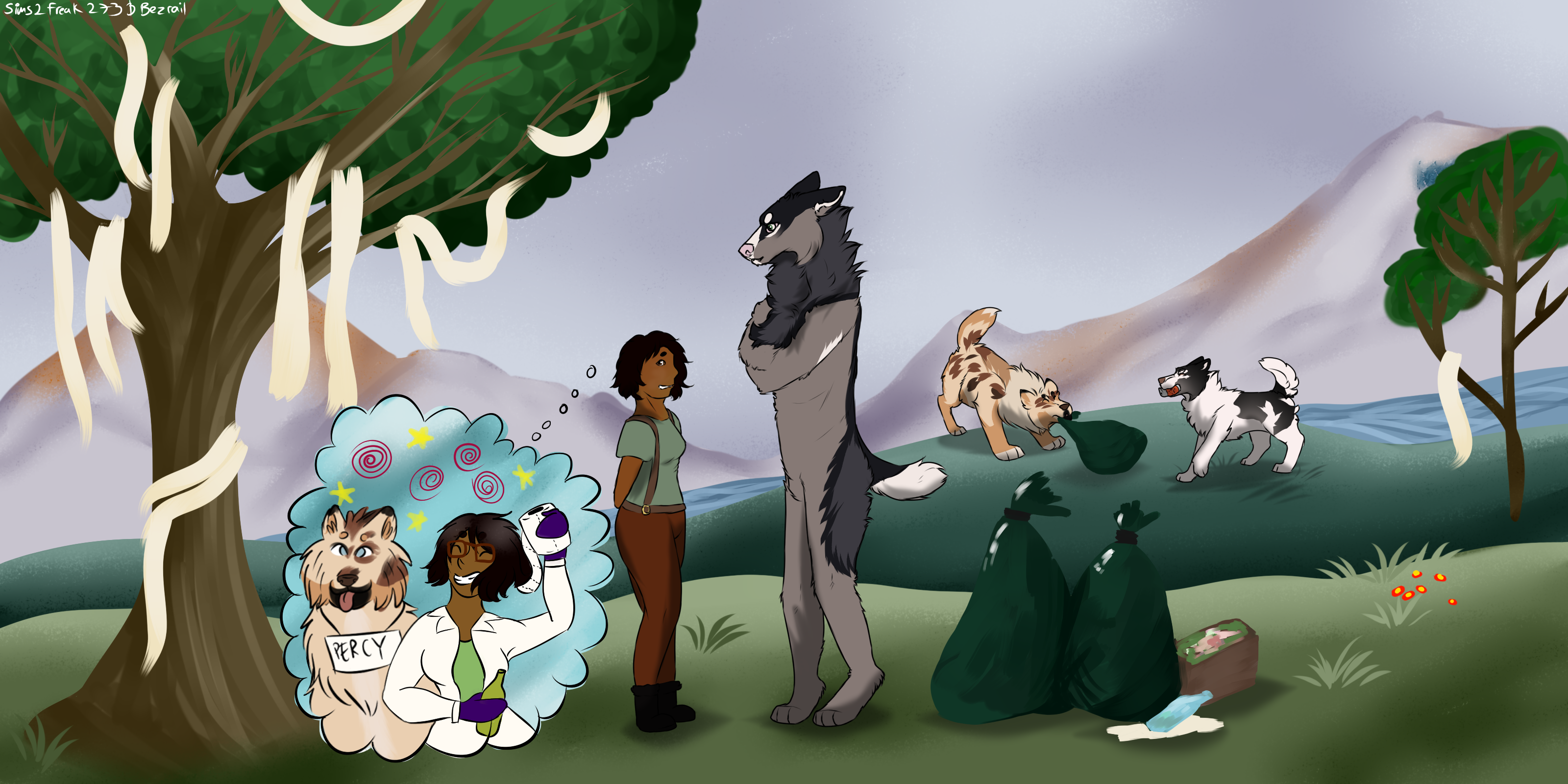 (Summer event) Episode 2 Thunderfeather side quest by Bezrail