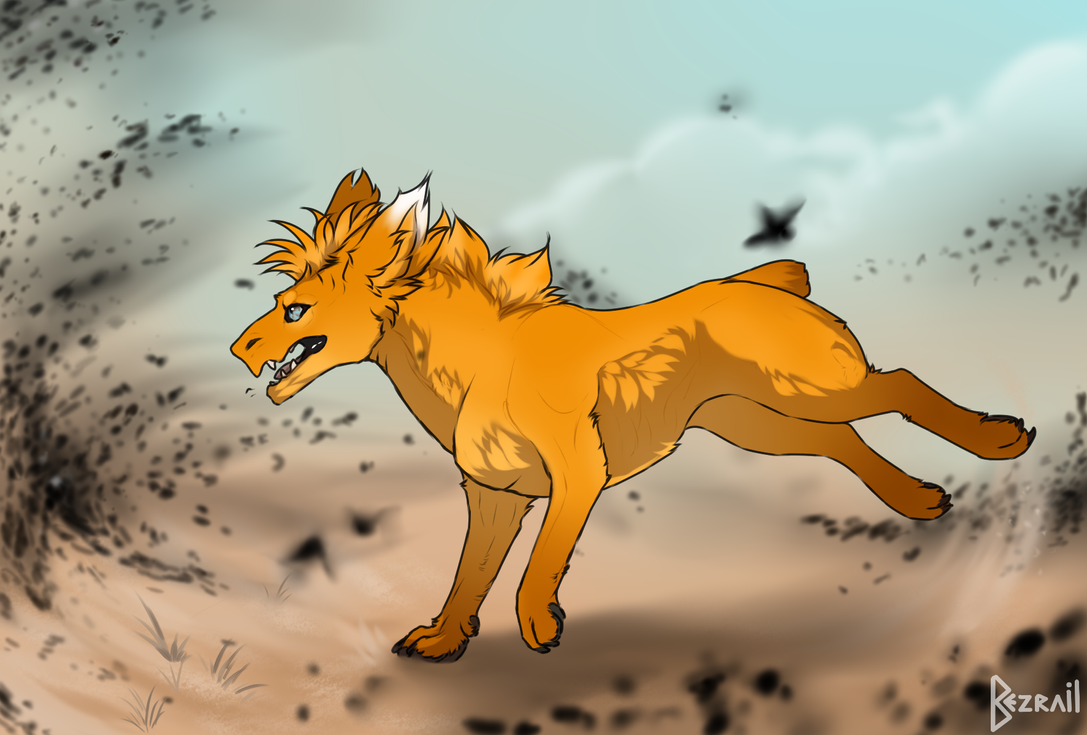 GET OUTTA HERE DAMN LOCUSTS by Bezrail