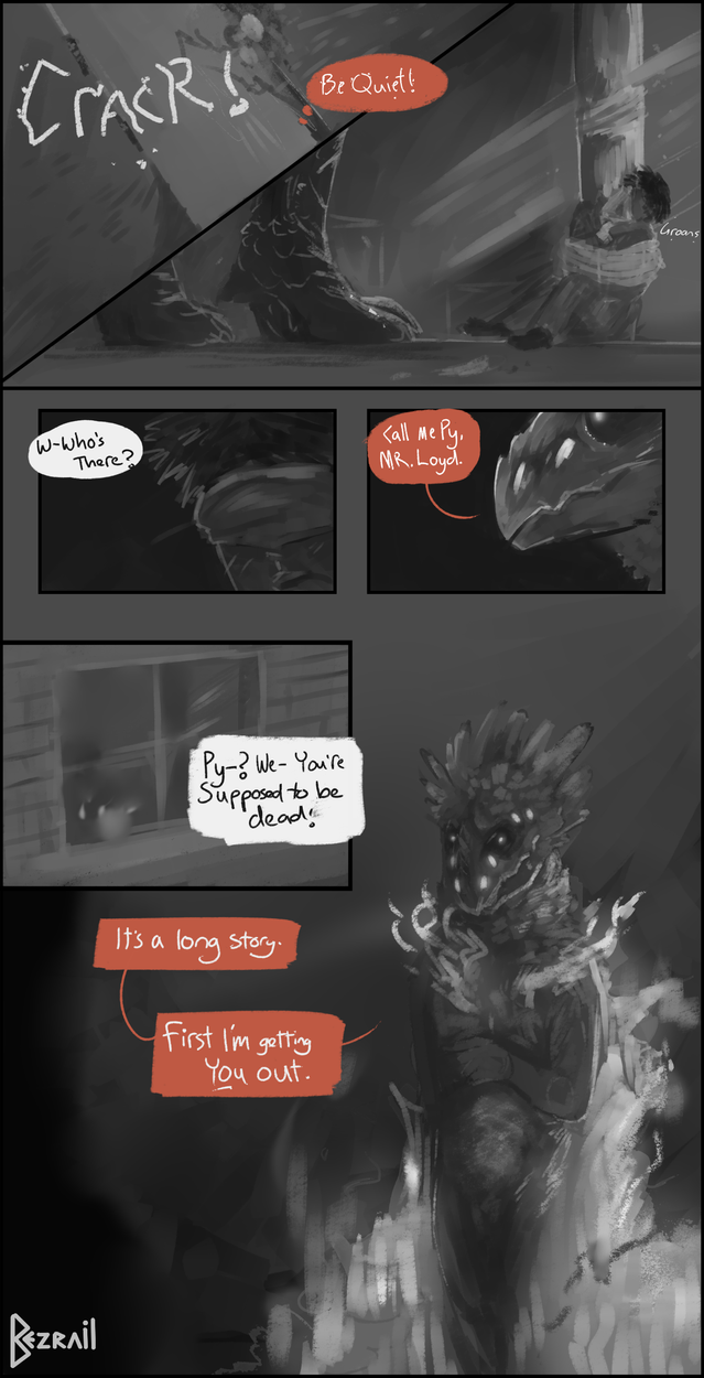 [Comic test] First intentions by Bezrail