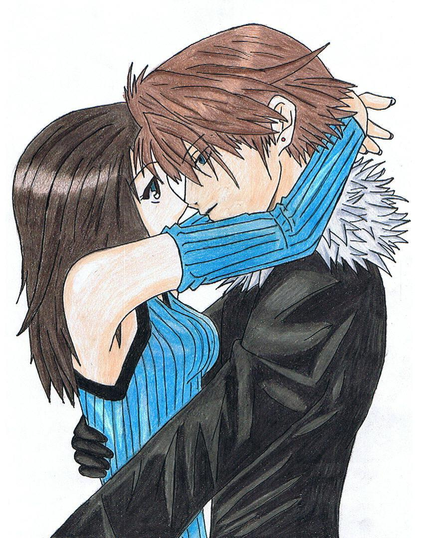 Squall And Rinoa Kiss Squall And Rinoa by Hikaru