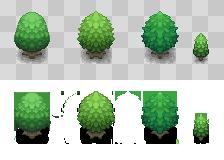 Pokemon Tree Tiles 01