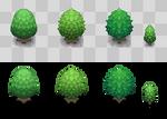 Pokemon Tree Tiles 01 by wraitex