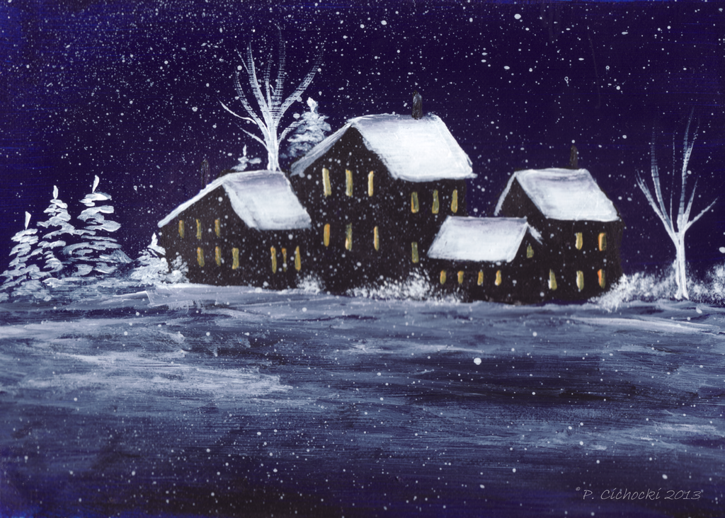 Holiday Card Project 2013 by superpower-pnut