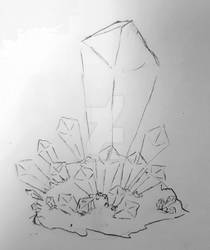 Summer Challenge - Crystal Sketch