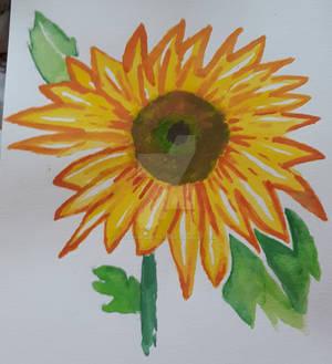 Janet's Sunflower