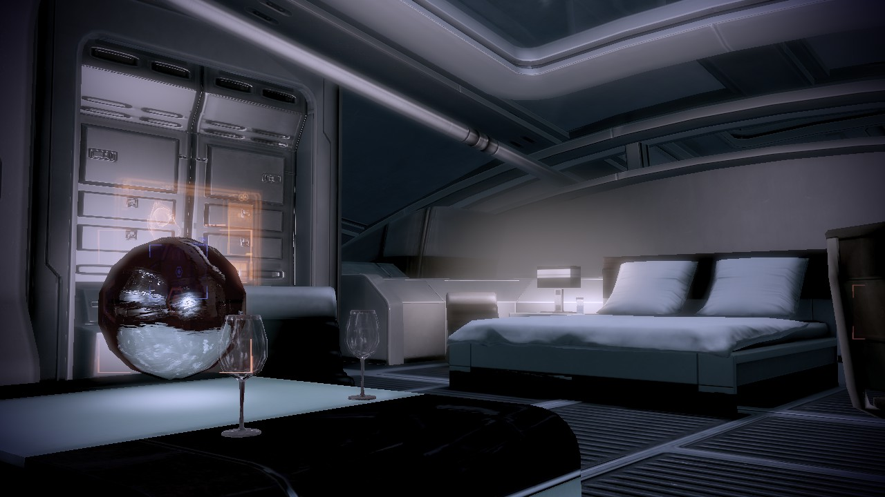 Shepard S Quarters First Person From Couch By Loraine95