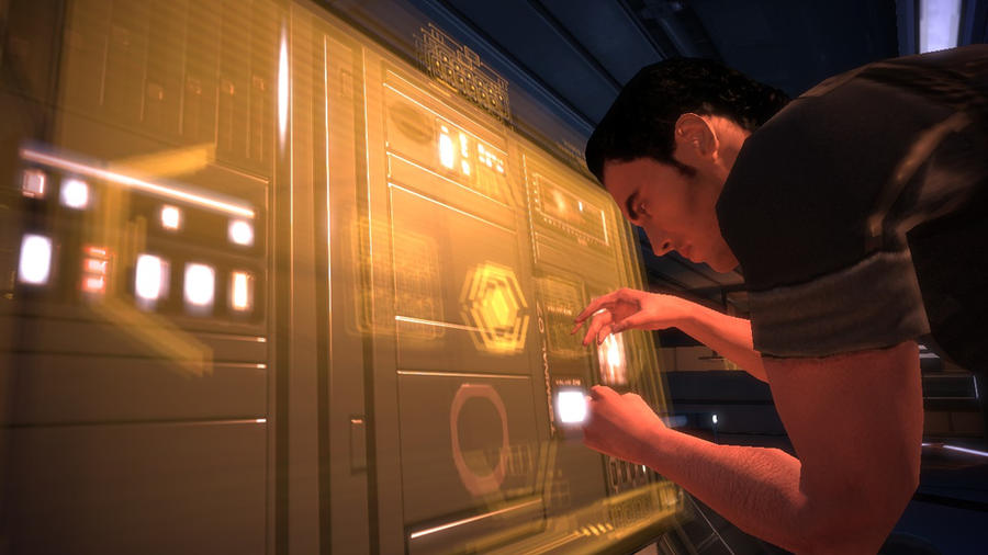 Kaidan Alenko - Mass Effect, Normandy by loraine95