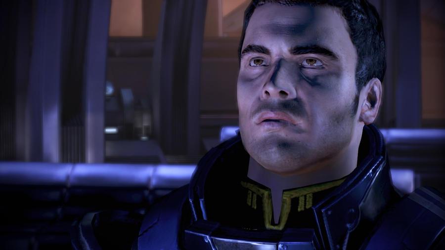 Kaidan Alenko - Mass Effect 3, Mesmerized by loraine95