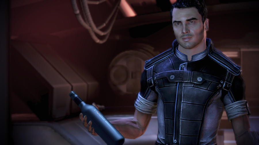 Kaidan Alenko - Mass Effect 3, Shepard's Quarters by loraine95
