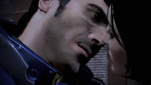 Kaidan Alenko, The Kiss - Mass Effect 3