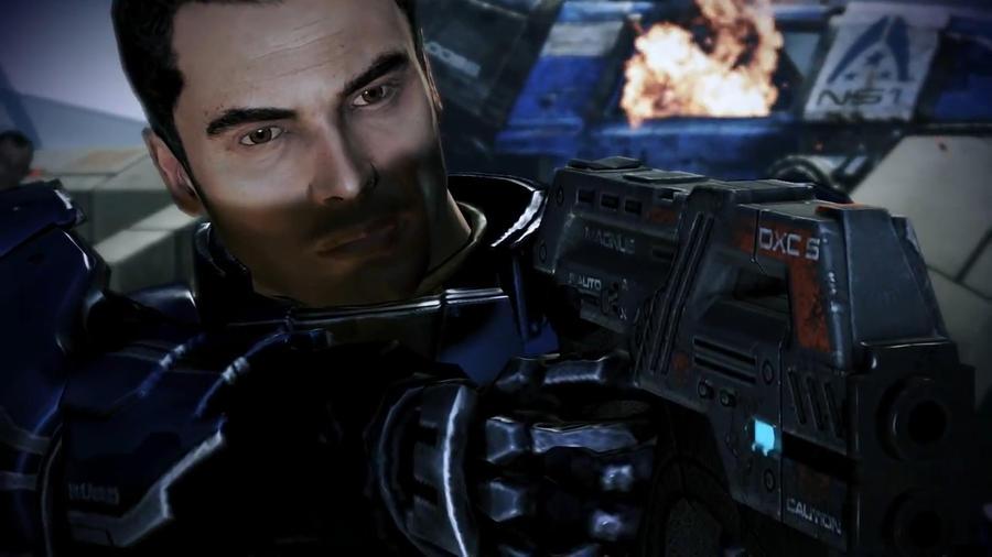 Kaidan Defending Udina - Mass Effect 3 by loraine95
