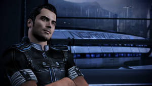 Kaidan and the Normandy - Mass Effect 3