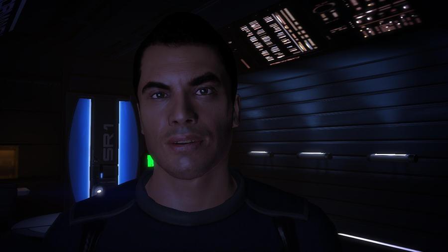 Kaidan Alenko In Shepard S Quarters2 Mass Effect By