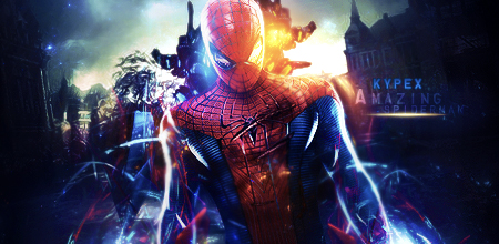 [| X |] Kypexfly . {2012 - 2014} The_amazing_spiderman_by_kypexfly-d57q523