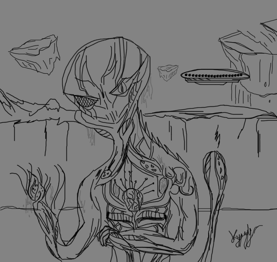 Alien Drawing Drawing__by_kypexfly-d6ivbkx