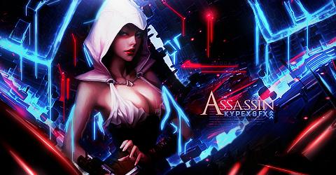 Game Render #35 [Inscripciones] Assassin_girl_by_kypexfly-d6llfij
